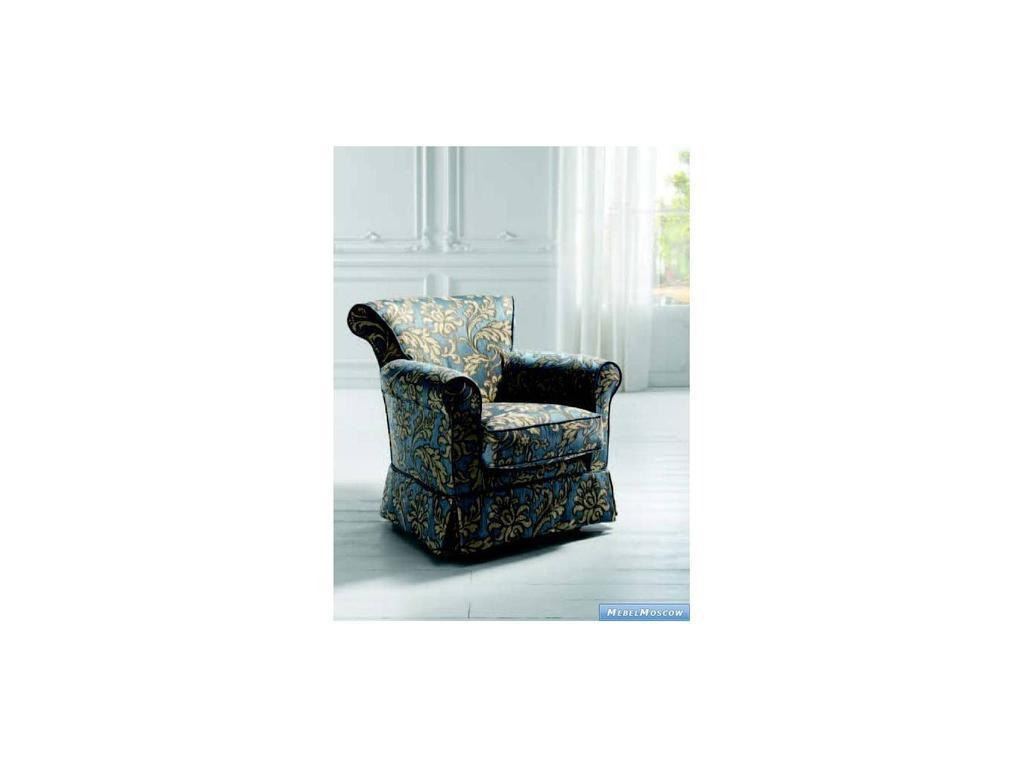 Siwa Zandarin: Valentina: кресло ткань Silver