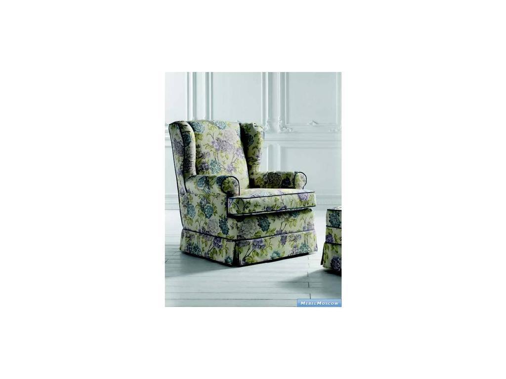 Siwa Zandarin: Bergere: кресло ткань Silver