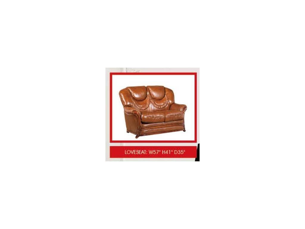 ESF: диван 2-местный  кожа ESF 49