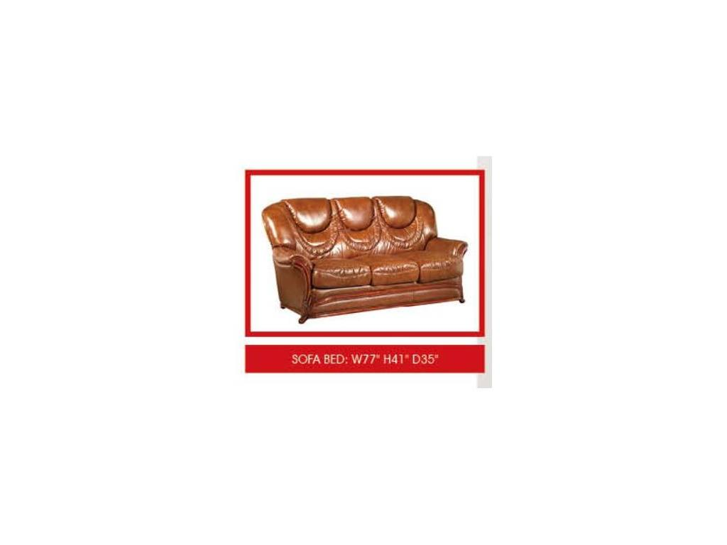 Dupen: диван 3-х местный  раскладной (кожа ESF 49)