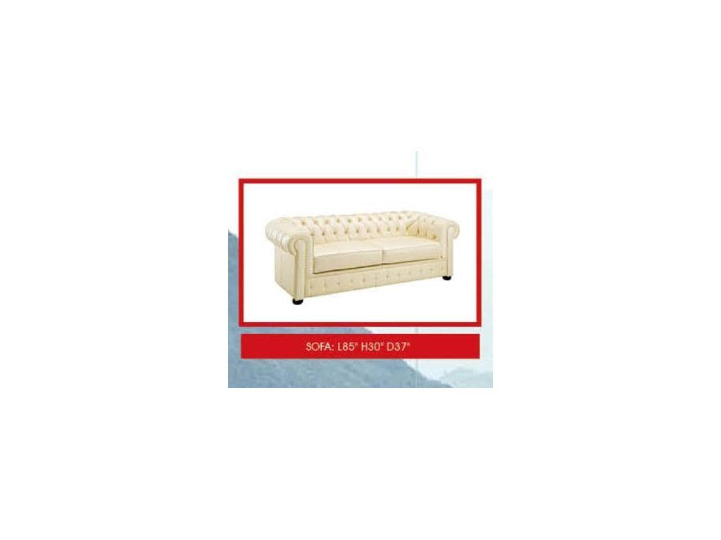 Dupen: диван 3-х местный  (кожа ESF 31)