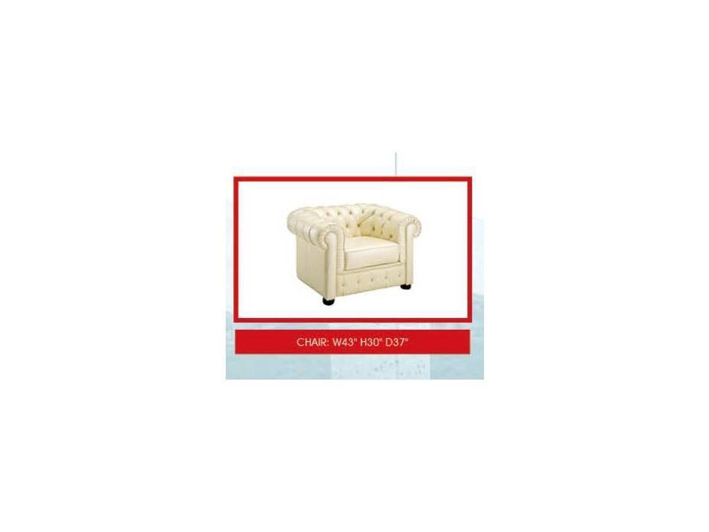 Dupen: кресло  (кожа ESF 31)
