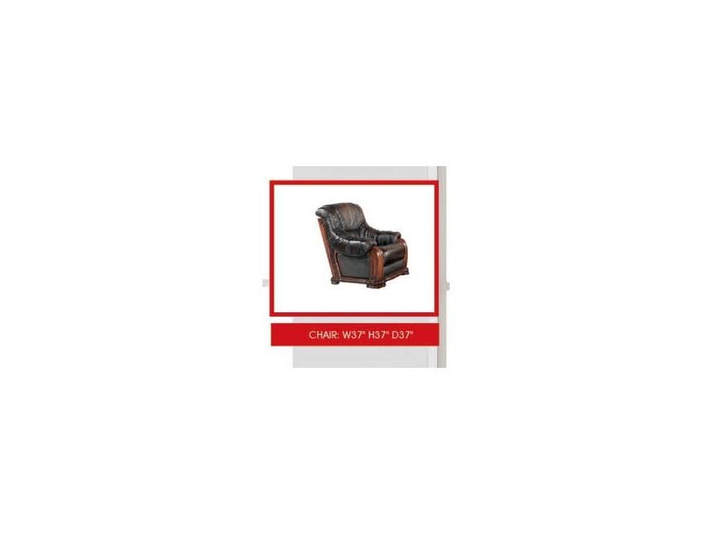 Dupen: Castello: кресло (кожа SWH 08)