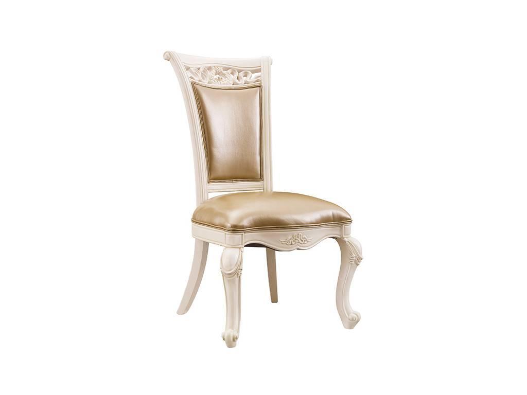 Carpenter: 230: стул  (слоновая кость) кожа 859/PVC