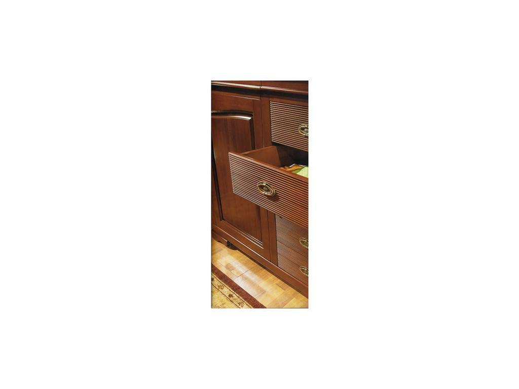 Cavio: Fiesole: прилавок 2-х дверный Фиесоле 5/3 ящика  (орех фиорентино)