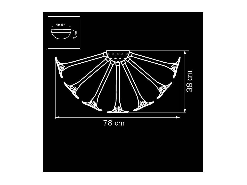 Lightstar: Bardano: люстра подвесная  9х40w (коричневый)