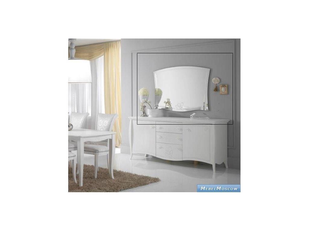 Cinova: Ninfea: зеркало для прилавка (белое)