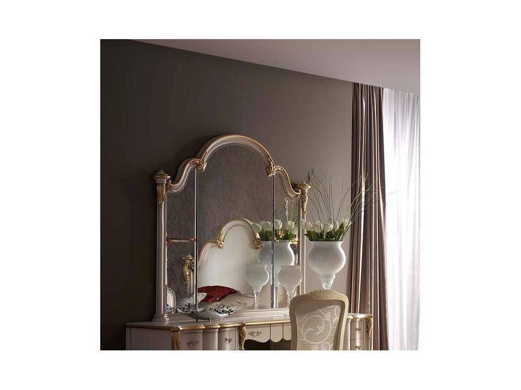 DeMiguel: Toscana: зеркало для туалетного стола  (слоновая кость, золото)