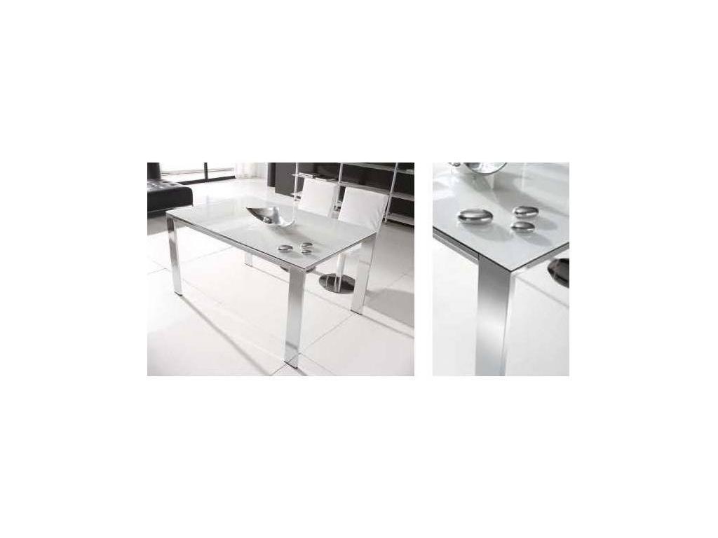 RamiroTarazona: COSMOPOLITAN: стол обеденный раскладной (extra blanco, blanco)