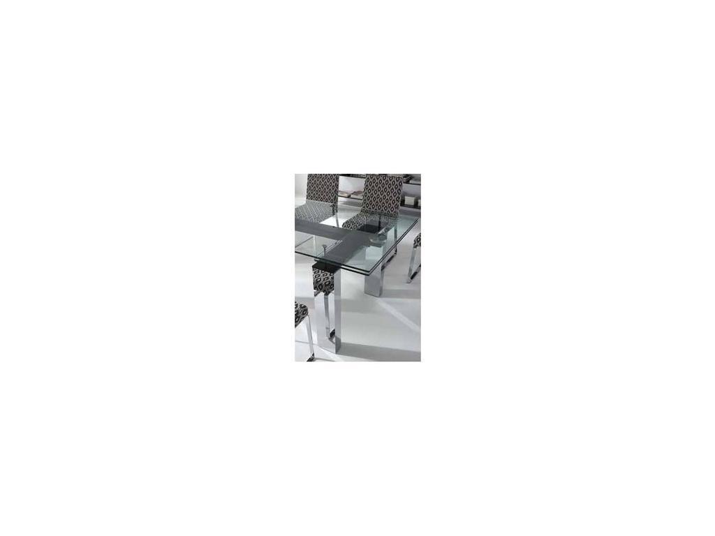 RamiroTarazona: MADISON: стол обеденный (vetro, blanco)