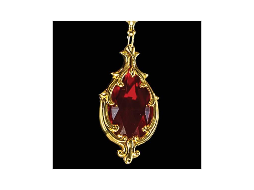 Osgona: Melagro: люстра подвесная  6х60W E14 (золото, фиолетовый, гранат)