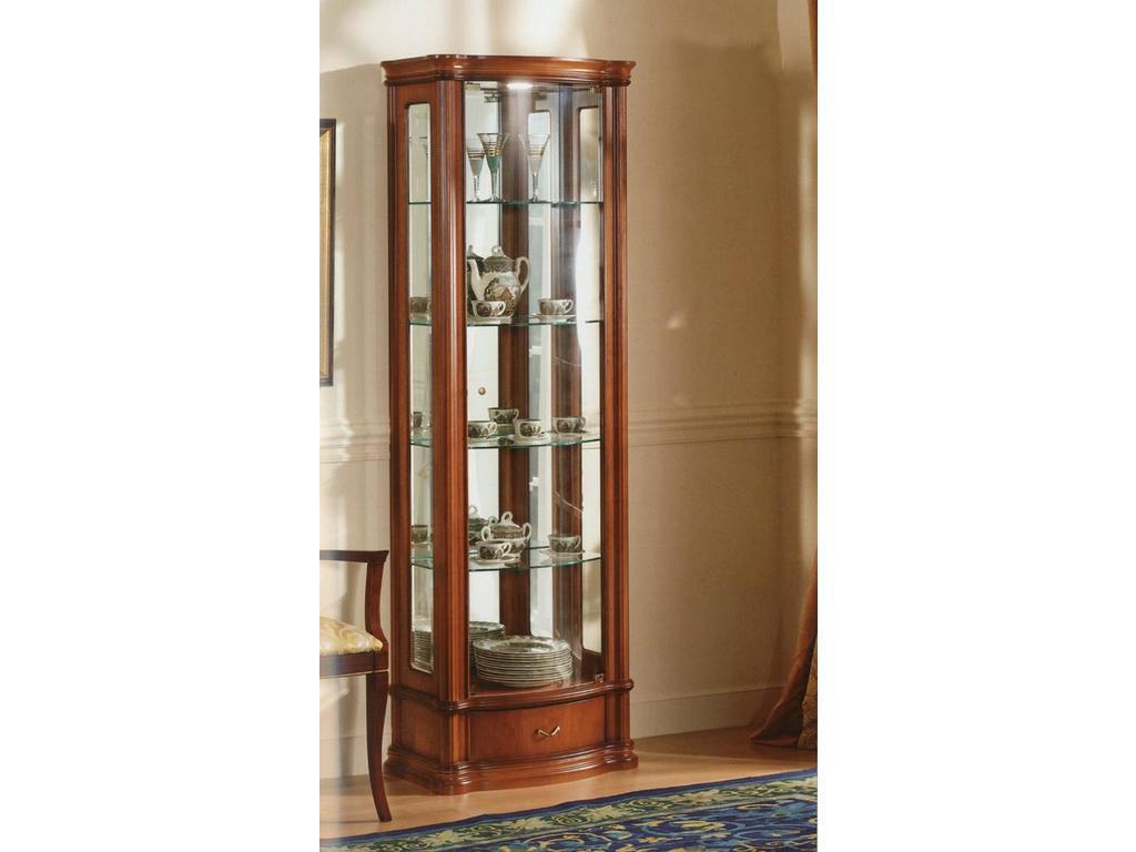 Disemobel: витрина 1 дверная  (черешня)