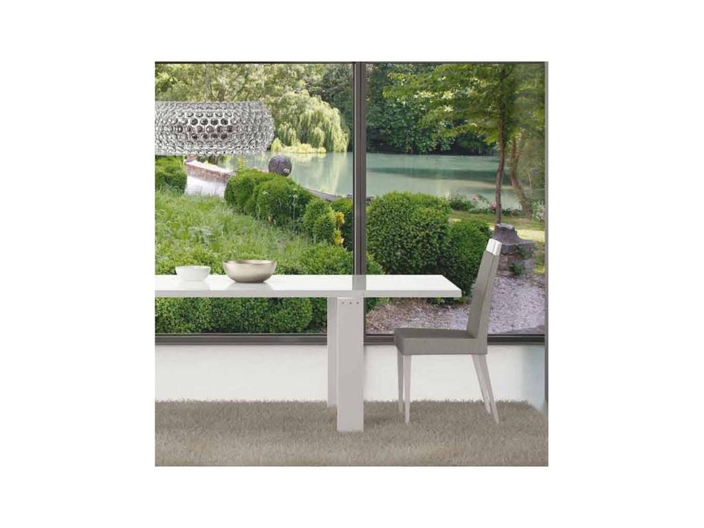 Status: Elegance diamond: стул  (белый, люкс микрофибра, серый)