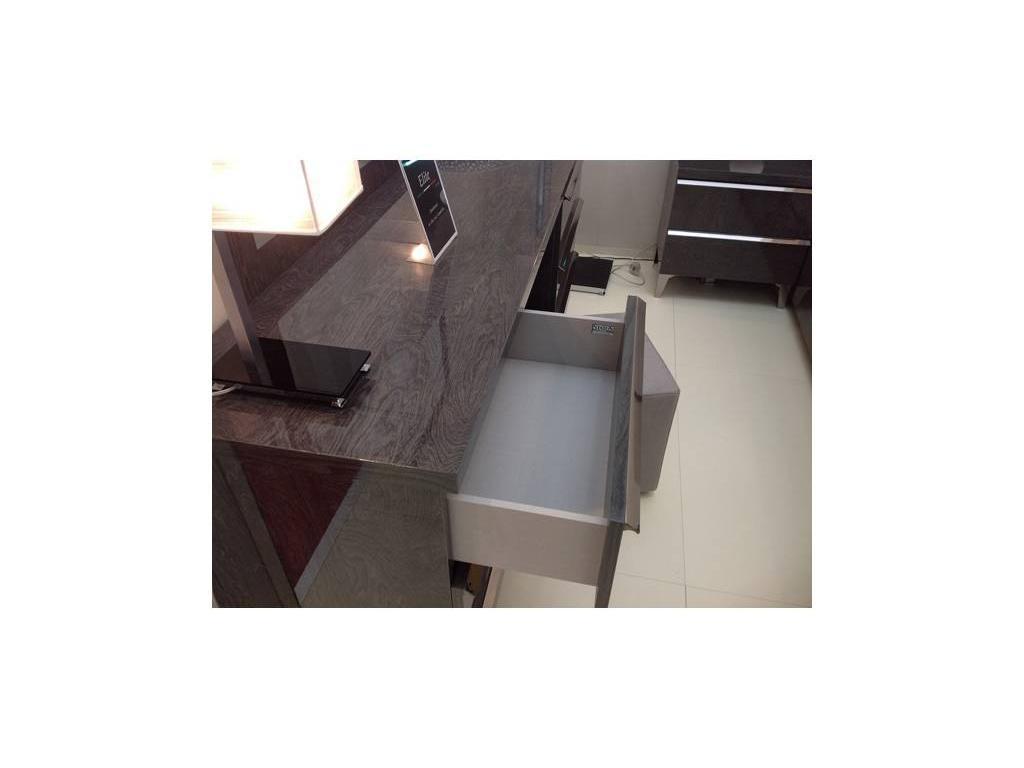 Status: Elite: стол туалетный  6 ящиков (Grey)