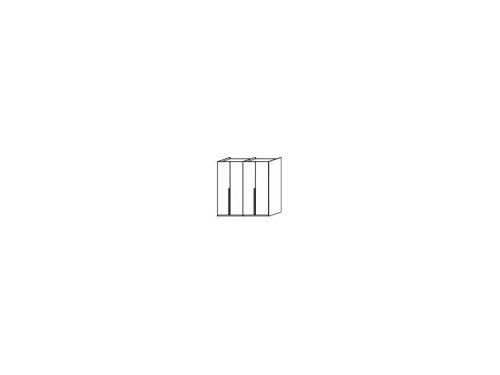 Status: Vega White: шкаф 4-х дверный  (белый)