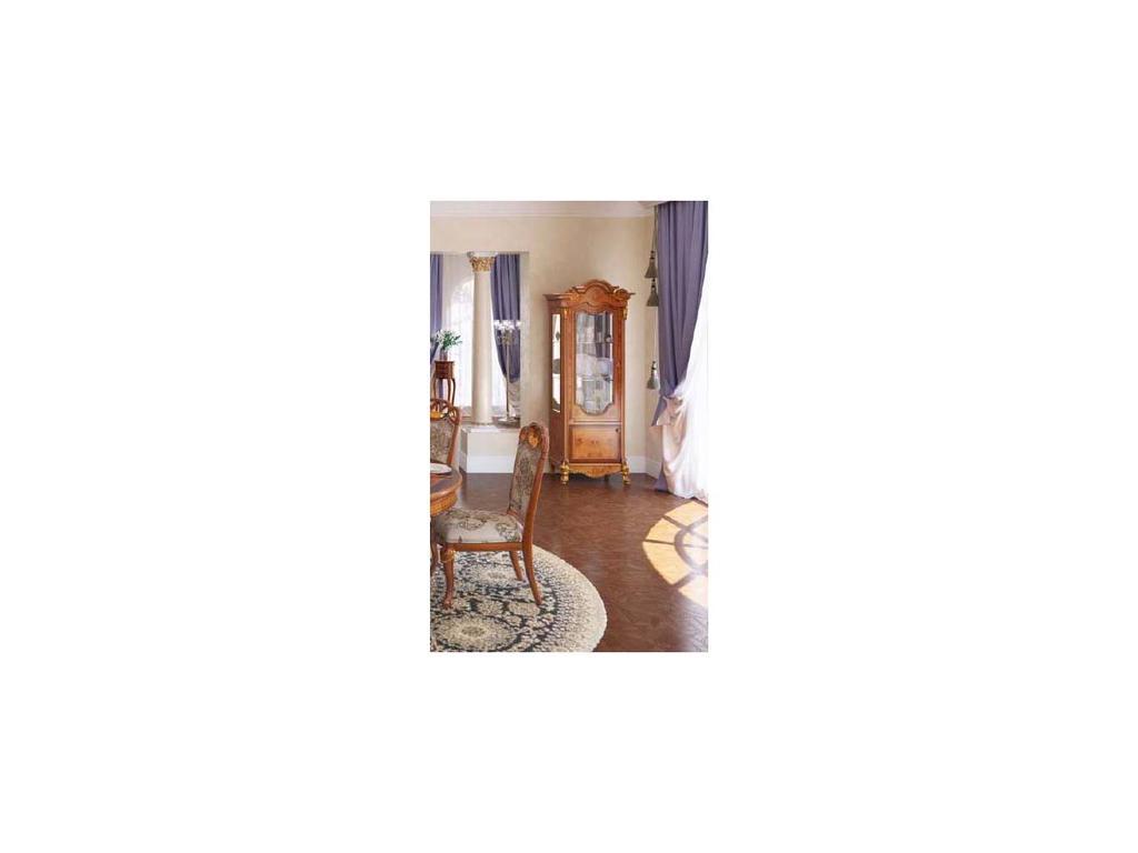 Nijoy: Афина: витрина 1 дверная левая  (олива)