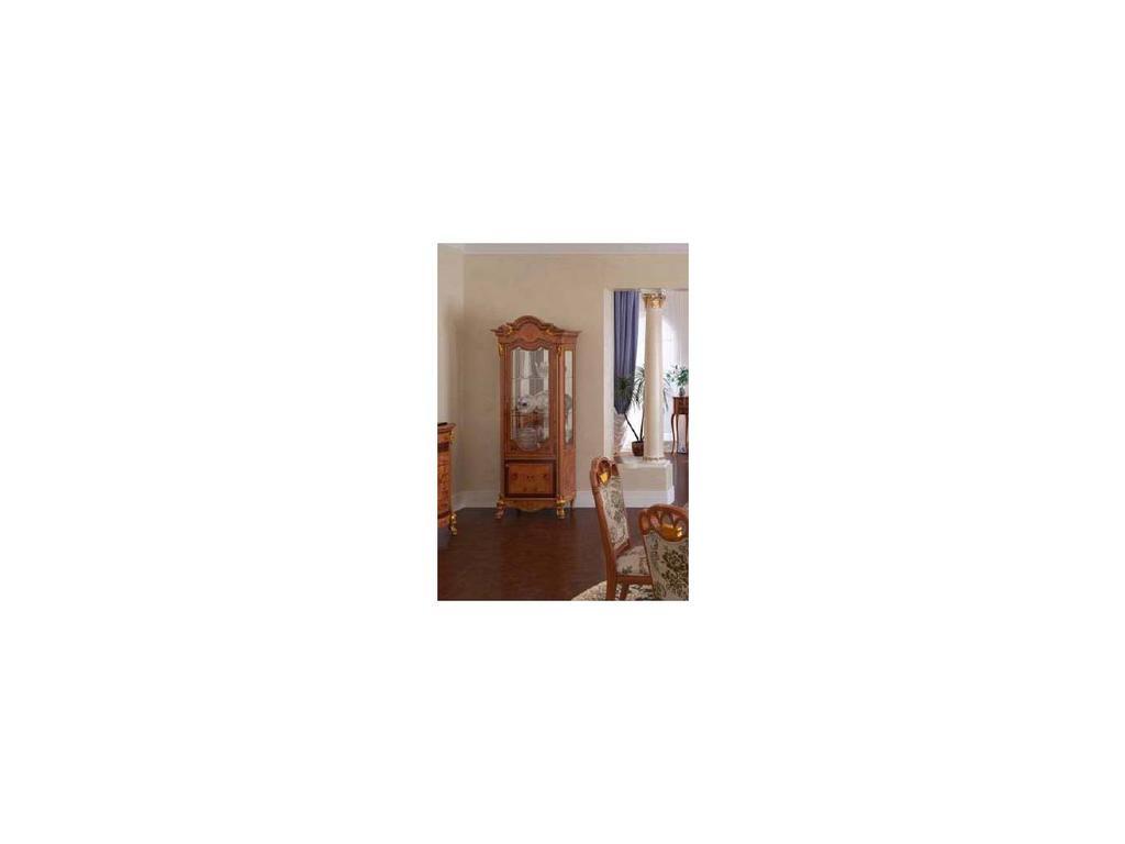 Nijoy: Афина: витрина 1 дверная правая  (олива)