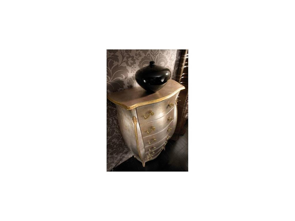 Tosato: Favoriti: комод высокий  (foglia argento anticato)