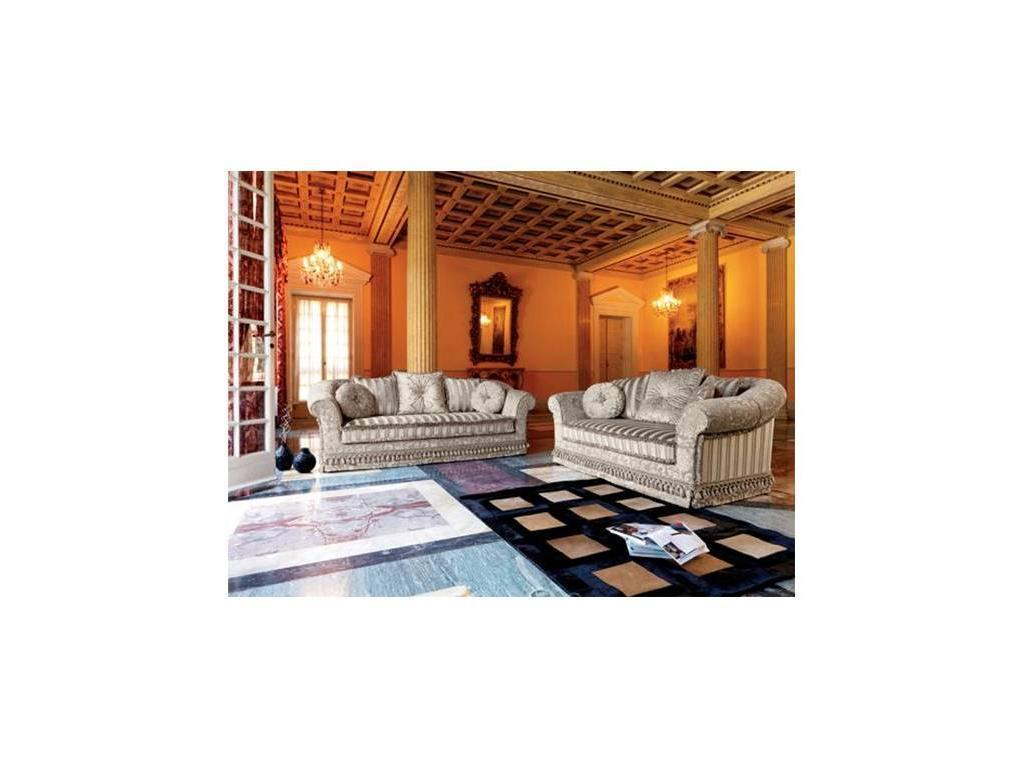 Domingo: Ludovica: диван спальное место 140х190 (ткань кат.А)