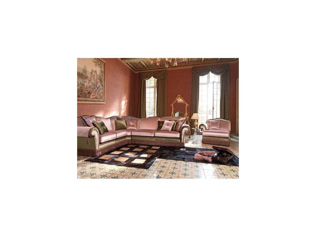 Domingo: Arthur frangia: диван угловой спальное место 105х180 (ткань кат.А)