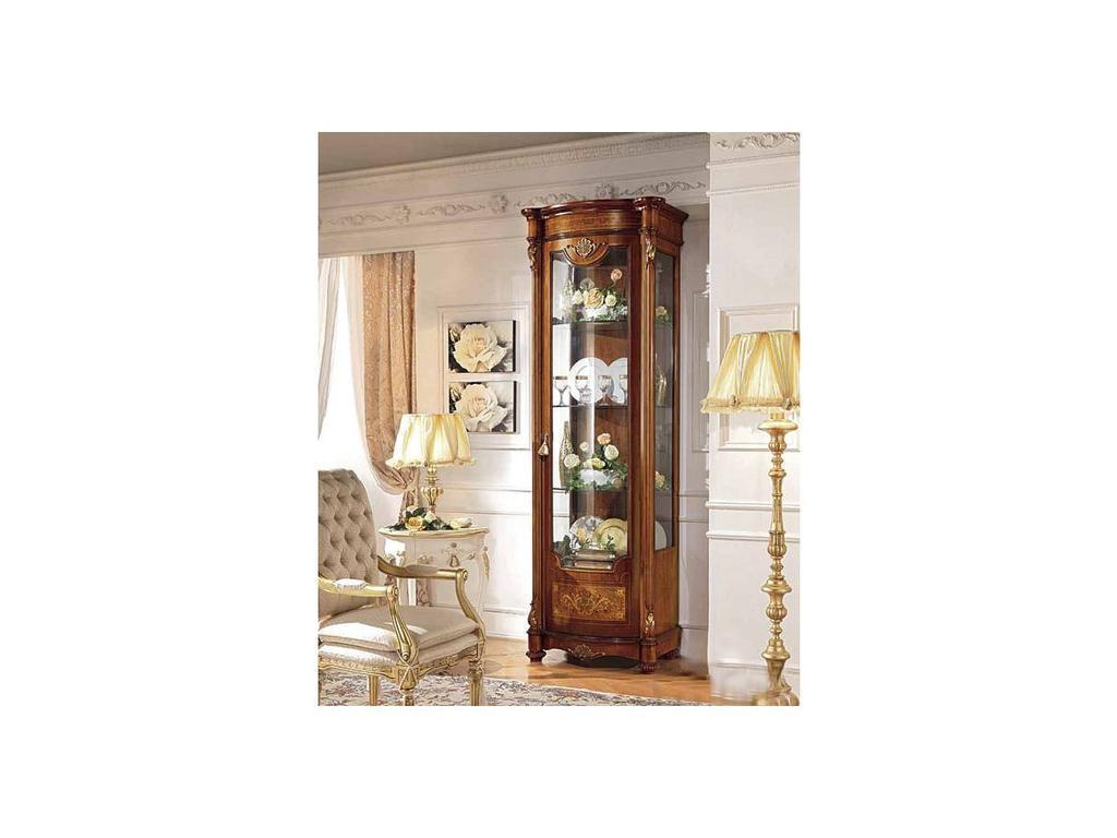 Antonelli Moravio: Pitti: витрина 1 дверная  (орех)