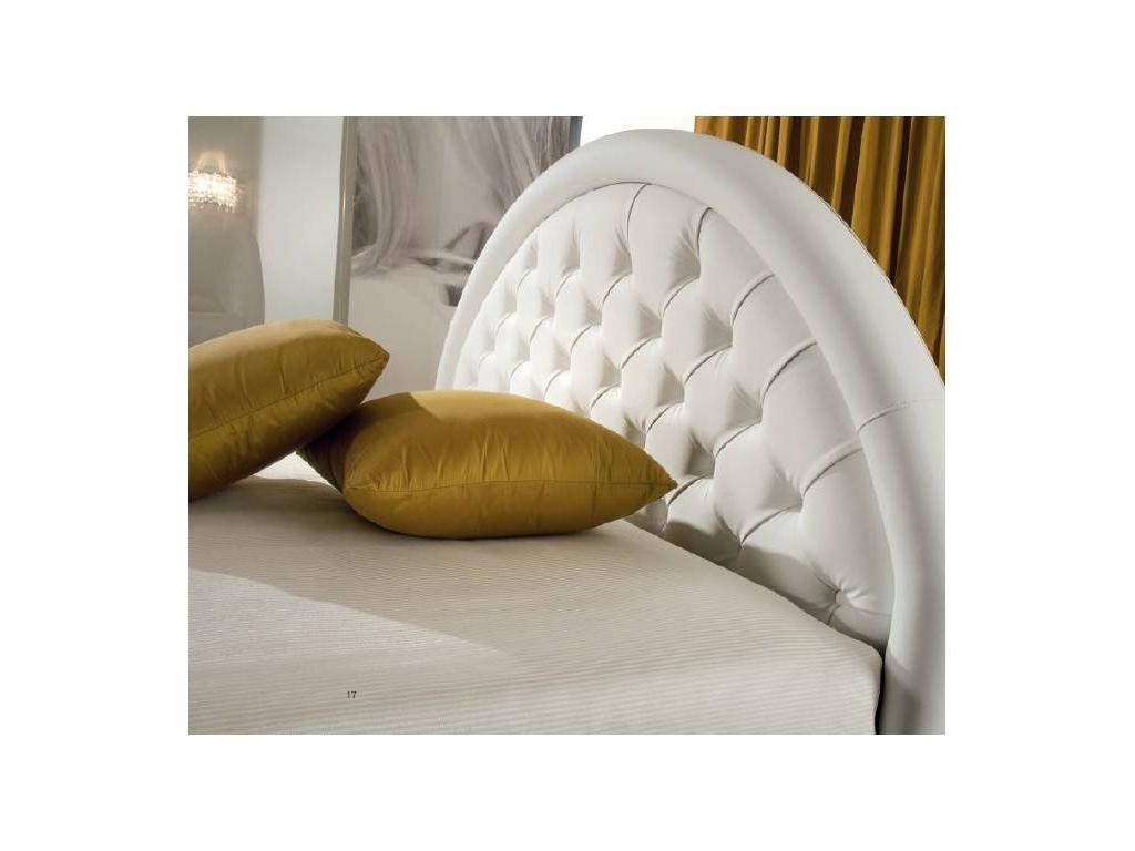 Piermaria: Nuvola: кровать 160х190 c подъемным механизмом (cat. Pelle)