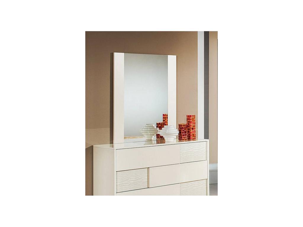 H2O: Ancona: зеркало настенное (beige)