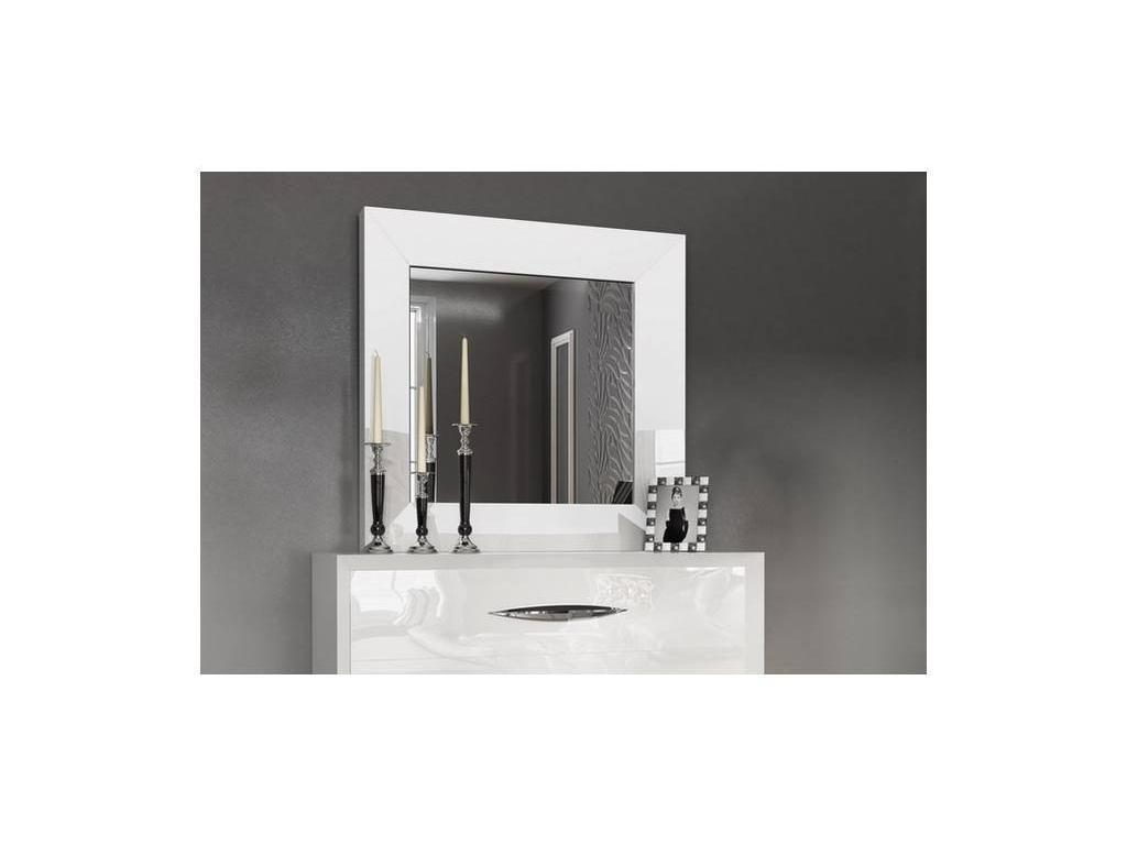 Franco Furniture: Carmen: зеркало настенное  (white)