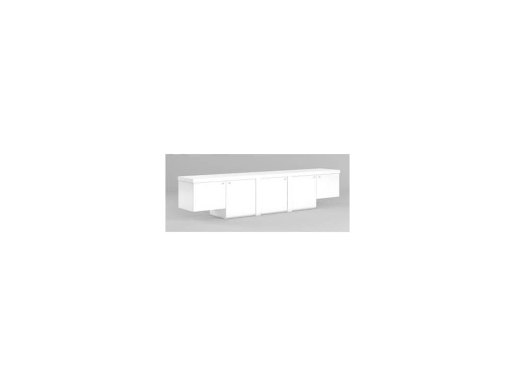 DAO: Business: шкаф для документов  (белый глянец)