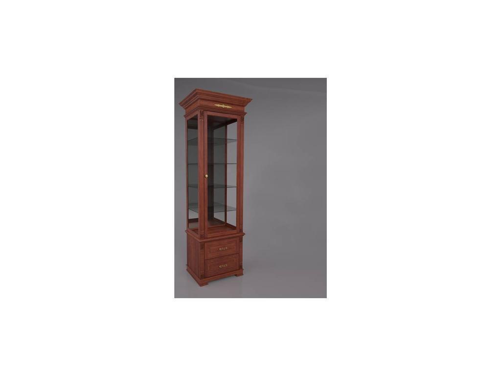 Arco: Decor: витрина 1 дверная правая  (орех)