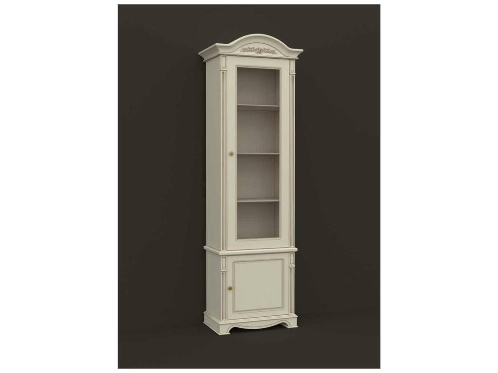 5219664 arco: esperansa: шкаф книжный правый (белый, патина-.
