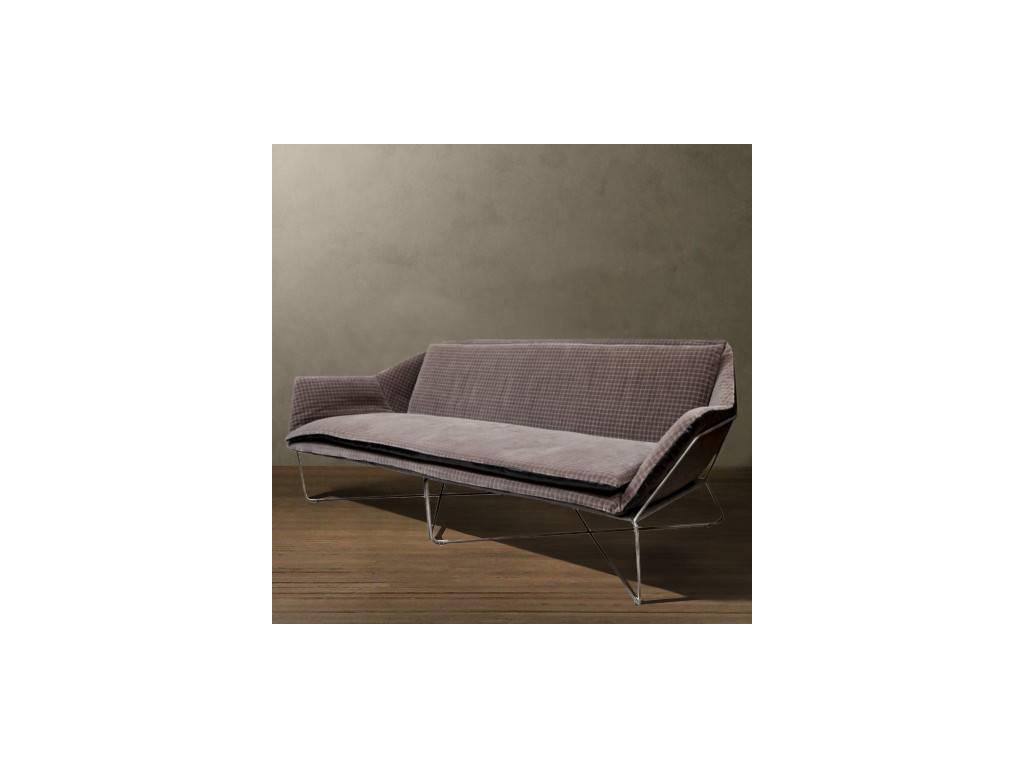Roomers: Шенг: диван 3-м  (коричневый)