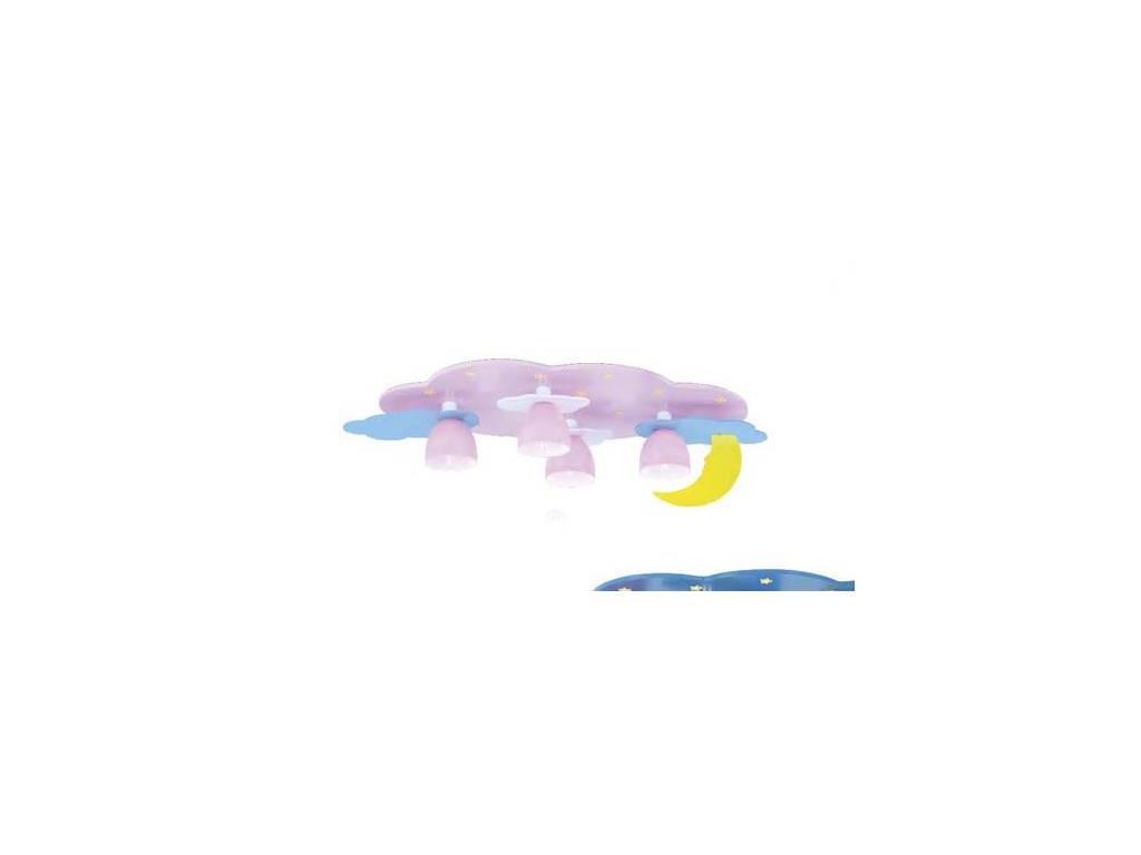 Donolux: Pianeta Terra: светильник потолочный  (розовый, разноцветный)