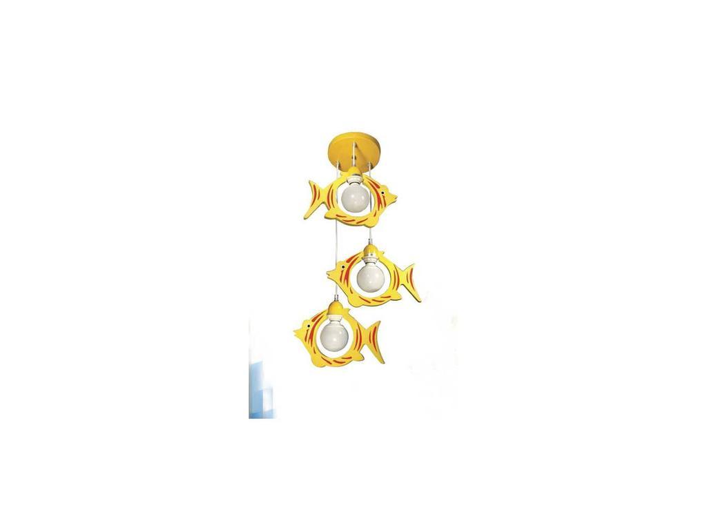 Donolux: Nature: люстра подвесная  (желтый)