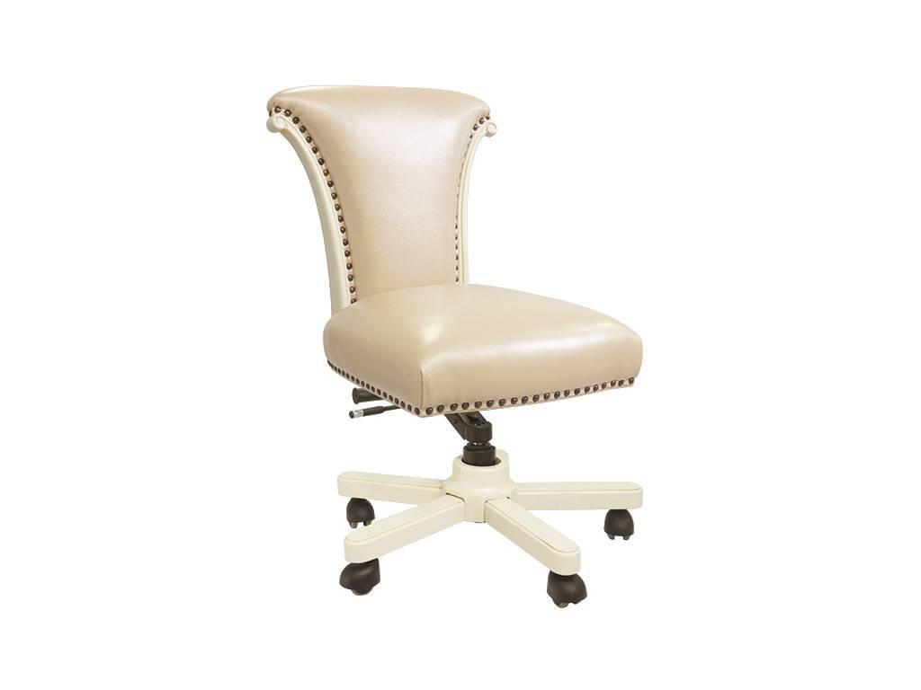 Carpenter: 230: стул руководителя  кожа A008/PVC (слоновая кость)