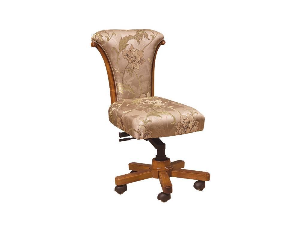 Carpenter: 230: стул вращающийся  ткань JY5680-3 (орех)