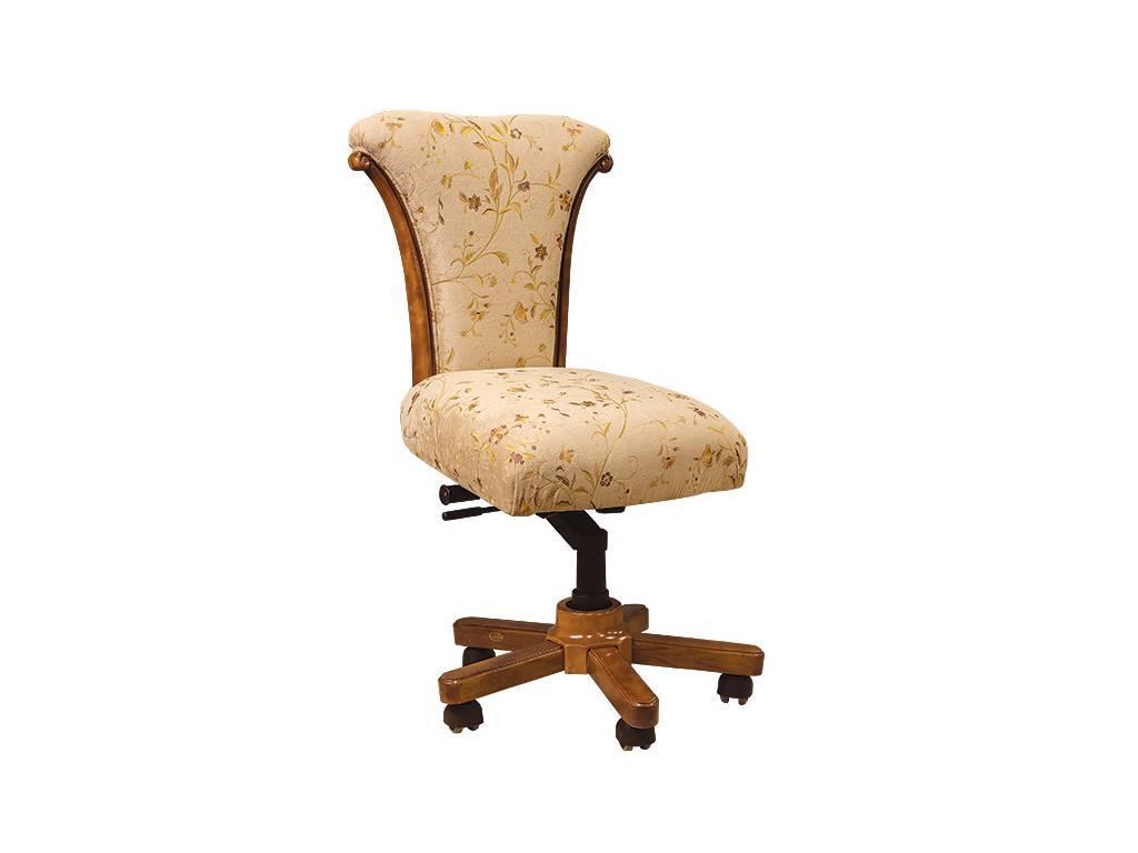 Carpenter: 230: стул вращающийся  ткань ST9-4 (орех)