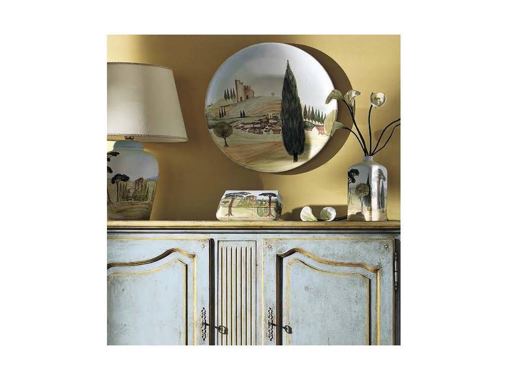 LAntica: Paesaggio: тарелка декоративная  (рисунок)