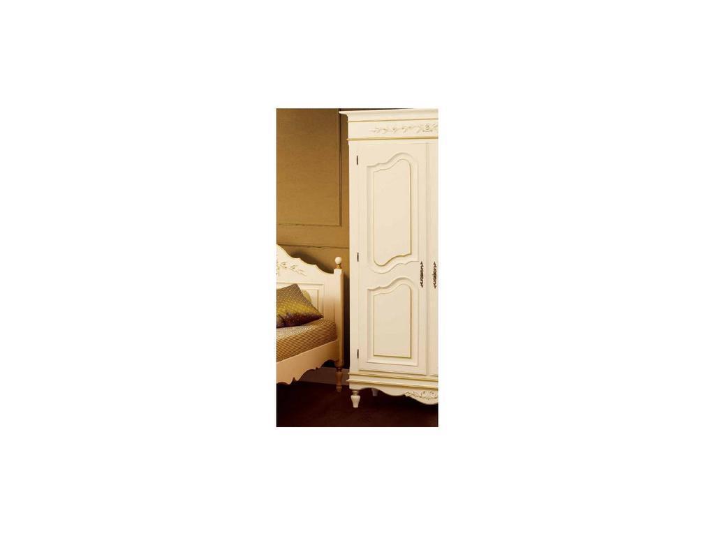 Bianca Ferrari: Provence: шкаф 1-дв.  левый (слоновая кость, золото)