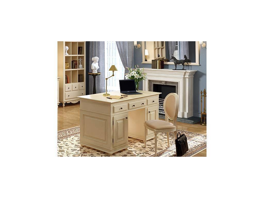 Bianca Ferrari: Provence: стол письменный  (слоновая кость, золото)