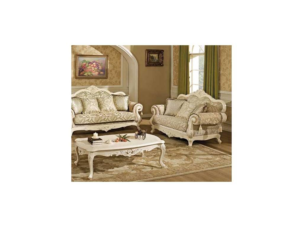 AV: Colezey: диван 2-х местный  (слоновая кость, ткань)
