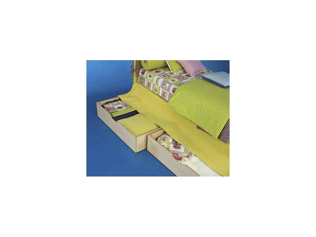 Twils: Maya: кровать 90х200  с выдвижными ящиками (ткань кат.В)