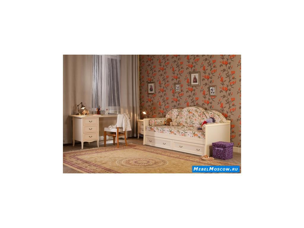 Main Group: Флоренция: кровать односпальная  (крем)