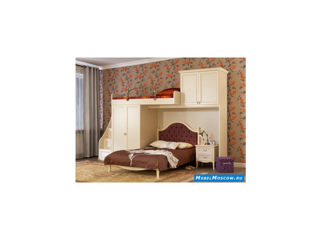 Main Group: Флоренция: кровать 90х200  (крем)