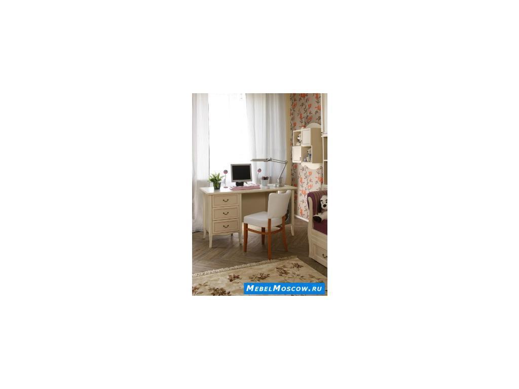 Main Group: Флоренция: стол письменный  (крем)
