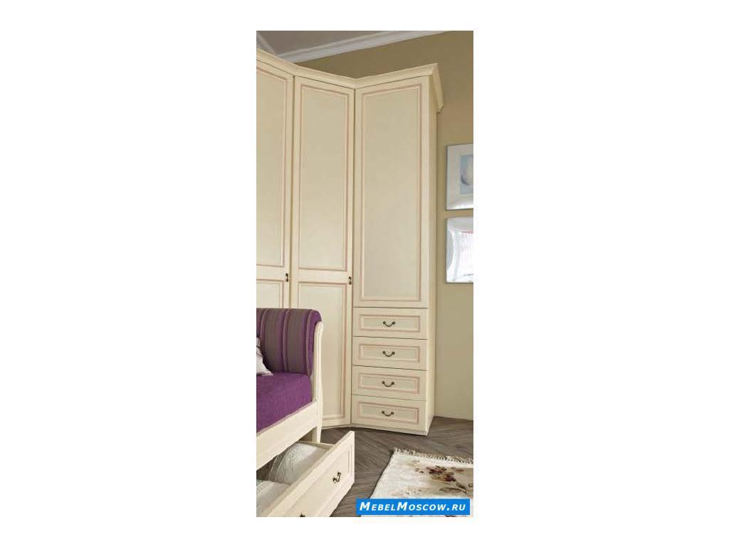 Main Group: Флоренция: шкаф 1 дверный  (крем)