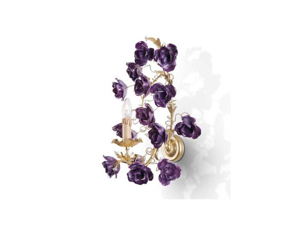Stillux: Romantic: бра  (Foglia oro, violet)