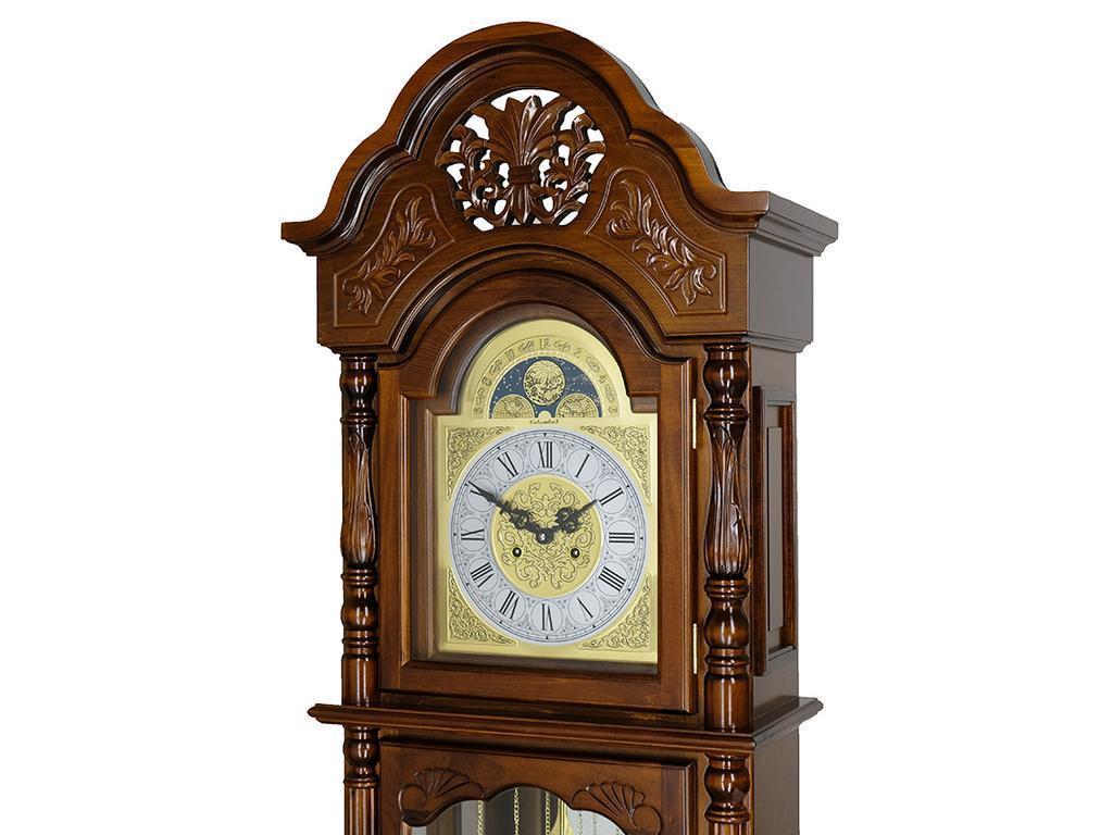 Columbus: Отражение старины: часы напольные  (орех итальянский)