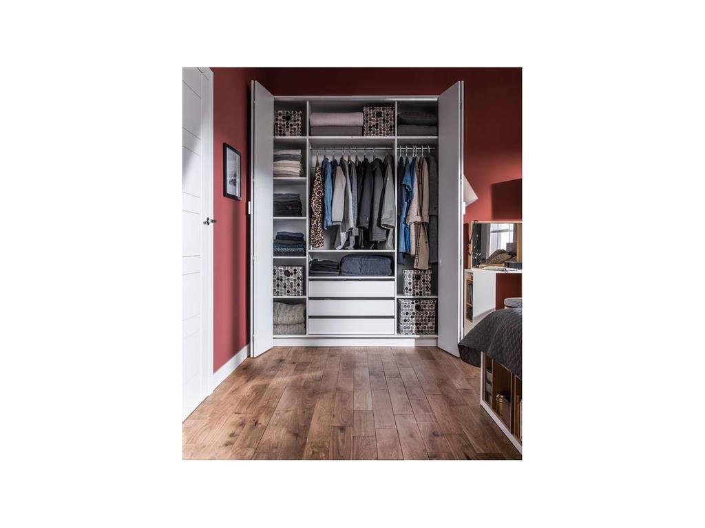 Vox: 4YOU: шкаф 4-х дверный  H240 (белый)