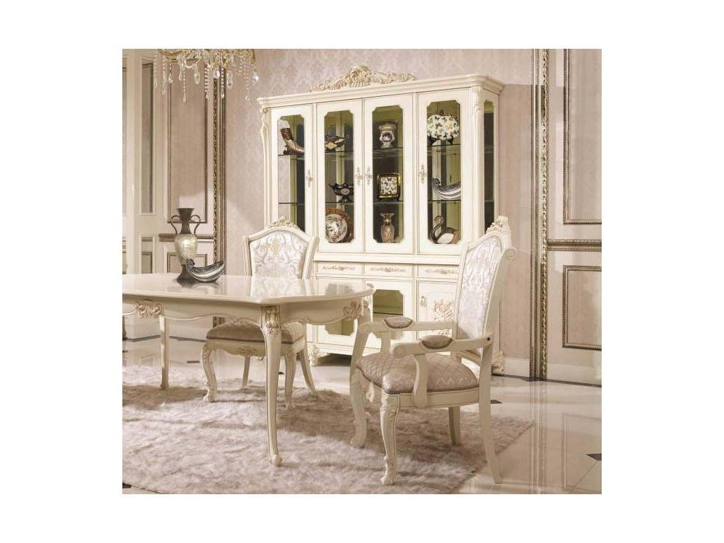 AV: Annette: витрина 4-х дверная  (слоновая кость)